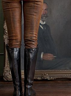 leather boots n leather breeches