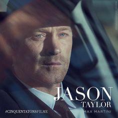 Max Martini é Jason Taylor, o guarda-costas de Christian Grey. #CinquentaTonsFilme