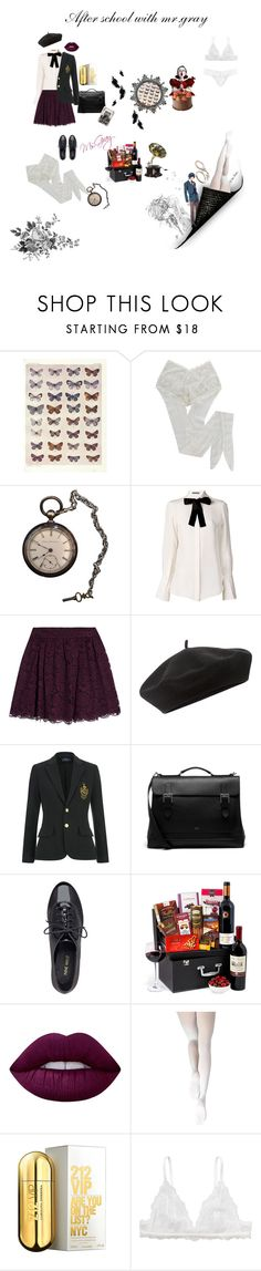 """""""After school with my boy"""" by fmsgray ❤ liked on Polyvore featuring HYD, Alexander McQueen, Alice + Olivia, Accessorize, Mulberry, Nine West, Lime Crime, Capezio Dance, Carolina Herrera and Monki"""