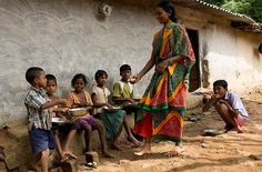 Your gifts to the World Hunger Fund provide lunch for these children