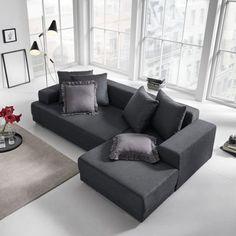 COUCH CUBIC 7 TEILE Couchgarnitur Wohnlandschaft Big Sofa ...