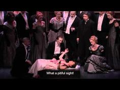 "Natalie Dessay performs the mad scene from Donizetti's ""Lucia di Lammermoor."" at the Metropolitan Opera. March 19, 2011."
