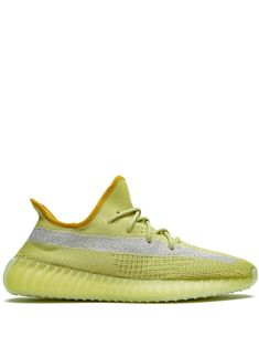 """Shop online yellow adidas YEEZY Yeezy Boost 350 """"Marsh"""" sneakers as well as new season, new arrivals daily. Platform High Heels, Platform Sneakers, Red Tracksuit, Yeezy Boost 750, Yellow Adidas, Yellow Heels, Knit Sneakers, Yeezy 350, 350 V2"""