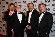 Pin for Later: Diese Mädels stahlen den Männern die Show bei den GQ Awards in Berlin Die Fantastischen Vier Michi Beck, Thomas D, Smudo und Ypsilon