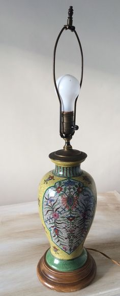 Eclectic Vintage lamp_view 1