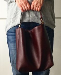Leather Totobag TH Bag レザートートバッグTHバック
