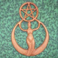 Image result for carved wood pentacle