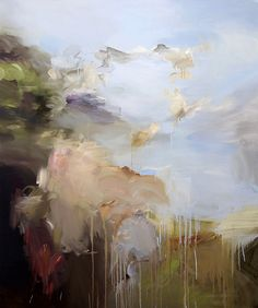 """ Ryan Coleman (American, b. 1975), Heaven & Earth, 2012, Oil on canvas, 42 x 48 in. """