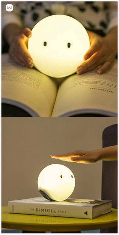 Touch Sensitive Rechargeable LED Night Mood Light Say hello to the Elfy an adorable night lamp. The post Touch Sensitive Rechargeable LED Night Mood Light appeared first on Design Ideas. Objet Wtf, The Kinfolk Table, Mood Light, Light Led, Light Touch, Lamp Light, Cute Car Accessories, Kawaii Room, Night Lamps