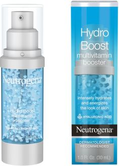 Neutrogena Hydro Boost Multivitamin Hydrating & Revitalizing Face Serum with Vitamin E, Niacinamide & Hyaluronic Acid to Moisturize Dry Skin & Help Even Skin Tone, 1 fl. Skin Tag Removal, Clean Face, Mouthwash, Tips Belleza, Beauty Hacks, Beauty Tips, Beauty Products, Makeup Products, Facial Products