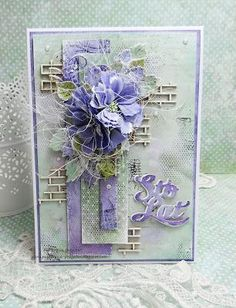 trendy birthday wishes ideas layout Cute Cards, Diy Cards, Birthday Wishes, Birthday Cards, Diy Birthday, Flower Cards, Paper Flowers, Best Wishes Card, Shabby Chic Cards