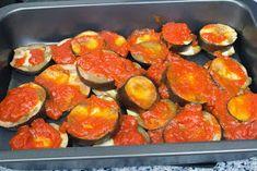 El Baúl de las delicias: Berenjenas al a napolitana Mousse, Zucchini, Sushi, Vegetables, Ethnic Recipes, Ideas, Food, Baked Vegetables, Kitchen Stuff