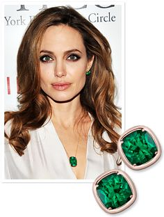 Angelina Jolie's jewelry designed herself, 100% profit goes to http://www.cfr.org/projects/world/education-for-children-of-conflict/pr1345