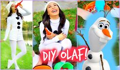 DIY Olaf - Frozen Halloween Costume! Easy and Affordable! Mylifeaseva (evagutowski)