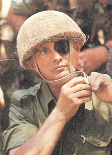 """Moshe Dayan in 1967 became the first person to pray at the Kotel (western wall) when it was taken back from the Jordanians. He helped revive a traditional Jewish custom by inserting a written petition into its cracks. It was later revealed that Dayan's prayer was that a lasting peace """"descend upon the House of Israel."""""""
