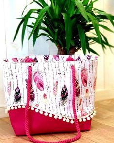 Amandine Bonnas sur Instagram: Pensez à commander votre joli sac de plage pour cet été !!! 🩱👙🏝 N'hésitez pas à composer votre sac selon vos envies 😍 Modèle Samba…