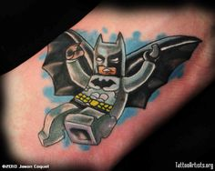 lego batman tattoo - Google Search
