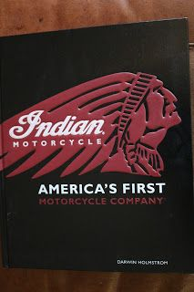 OldMotoDude: Indian Motorcycle book from my library