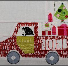 '12 Days of Christmas' Block 1: Christmas Truck