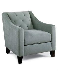 Trend Chloe Velvet Metro Living Chair