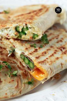 Tortilla ze szparagami, szynką i jajkiem | Moja Delicja