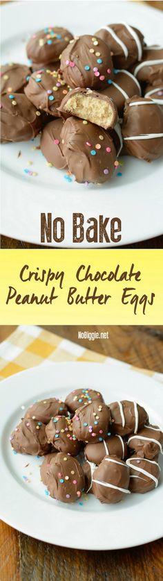 No Bake Crispy Peanu