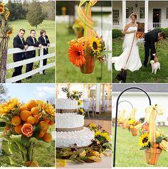 Imágenes de Decoraciones con Girasoles - Para Más Información Ingresa en: http://ramosdenoviaoriginales.com/imagenes-de-decoraciones-con-girasoles/