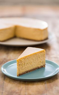 Pumpkin Cheesecake. We made 30 different iterations of pumpkin cheesecakes to determine the best recipe.