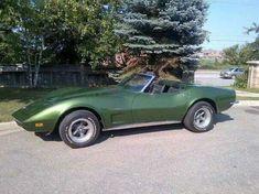 73 Corvette Convertible
