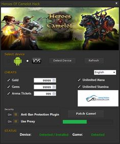 Download Heroes of Camelot Hack iOS Android http://abiterrion.com/heroes-of-camelot-hack/