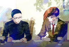 Chang Wufei and Trowa Barton Gundam Mobile Suit, Gundam Wing, Art Diary, Mecha Anime, Anime Shows, Anime Comics, Me Me Me Anime, Cartoon Network, Fantasy Art