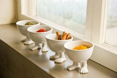 LOWER PRICE! NOW $36! START 2015 WITH A SMILE! Please note this listing is for two small bowls.  We love our small bowls so much we want to