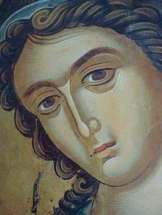 theophanis o kris Byzantine Icons, Byzantine Art, Religious Icons, Religious Art, Order Of Angels, Paint Icon, Face Icon, Religion Catolica, Russian Icons