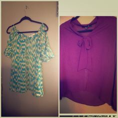 Forever 21 bundle!! Great deal! Two shirts! For more pics, see individual listings. Forever 21 Tops