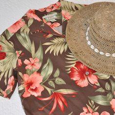Silk Hawaiian camp shirt. Get is the luau spirit! Gently worn silk camp shirt, ready for an island adventure. Tommy Bahama Tops
