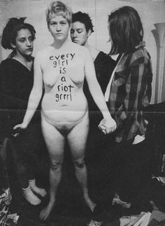 every girl is a riot grrrl.