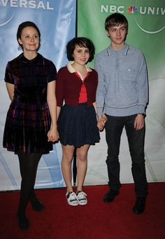 kids from Parenthood  .... love Mae Whitman's style