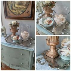 Collecting vintage silver www.diybeautify.com
