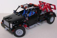 TechLug.fr - Review Lego Technic #9395 Dépanneuse