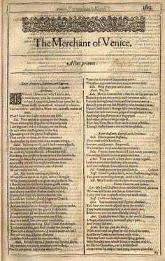 Shakespeare's The Merchant of Venice essay?