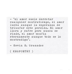 Kevin S. Granados.