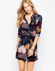 Vero Moda - Vestito chemisier stampato
