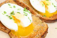 Open-Faced Egg Sandwich