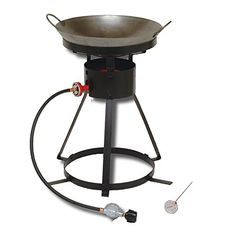 King Kooker 24Wc Heavy-Duty 24-Inch Portable Propane Outdoor Cooker With 18-Inch Steel Wok, 2015 Amazon Top Rated Outdoor Fryer Accessories #Lawn&Patio