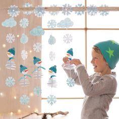 Filzfädelei Schneemann - Die machen Lust auf Winter! ♥ sorgfältig ausgewählt ♥ Jetzt online bestellen!