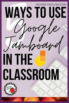 Teaching Technology, Educational Technology, Teaching Resources, Technology News, Google Classroom, School Classroom, Classroom Activities, Biology Classroom, Middle School English