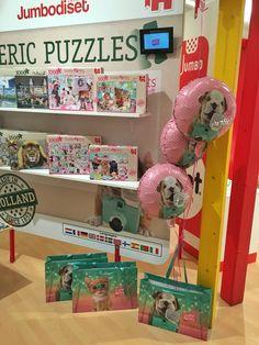 Studio Pets at Toy Fair Nurnberg. Jumbo puzzles.