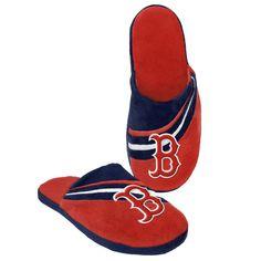 7e5e7f2ed4a7 Boston Red Sox Big Logo Slippers
