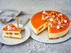 Tyrni-lakkakakku Joko, Deli, Panna Cotta, Cheesecake, Good Food, Pudding, Baking, Breakfast, Ethnic Recipes
