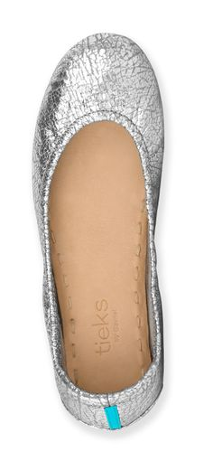On the run or having fun, Silver Screen Tieks transition seamlessly from day to night. Their lustrous shine is sure to be the perfect finishing touch to any outfit! Cute Shoes, Me Too Shoes, Pretty Shoes, Tieks By Gavrieli, Zapatos Shoes, Wedding Shoes, Bridal Flats, Wedding Stuff, Couture